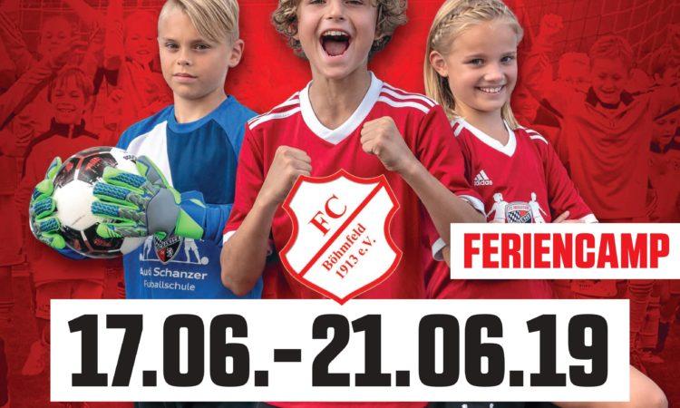 Schanzer Feriencamp Plakat