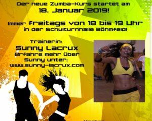 Zumba Plakat