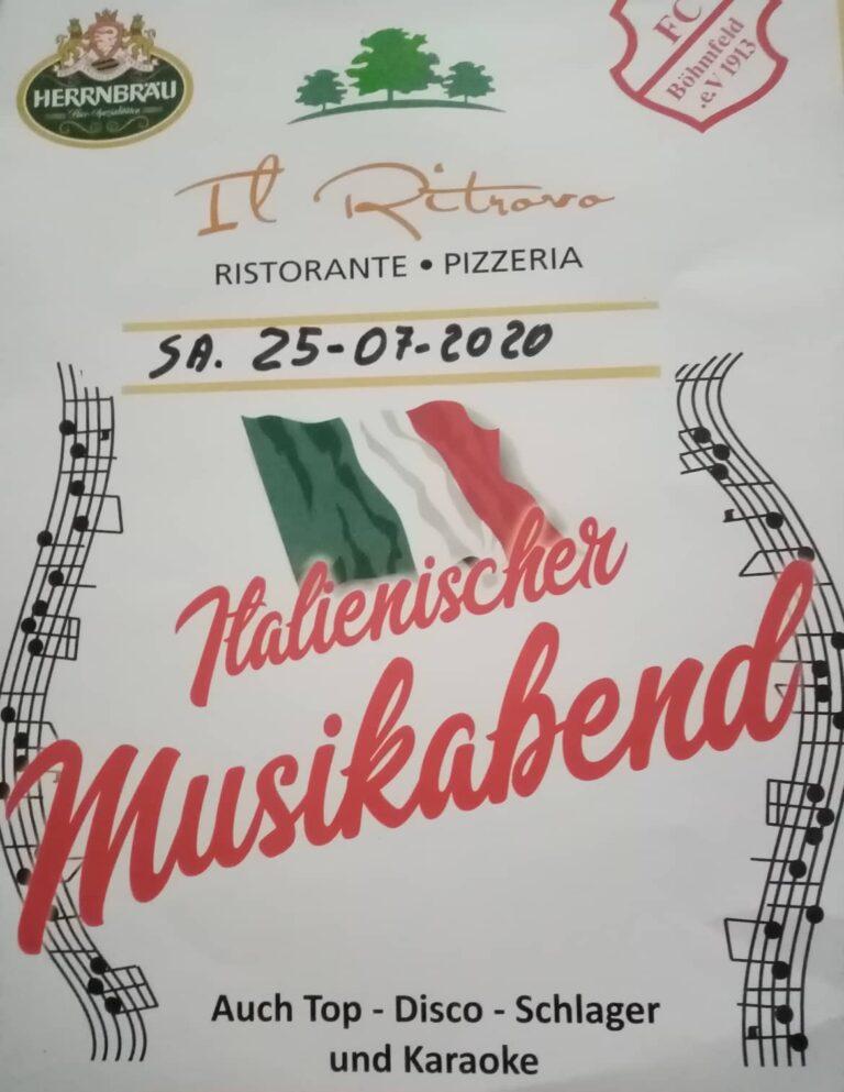 Italienischer Musikabend