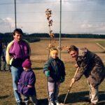 Aktion Baume pflanzen 1993