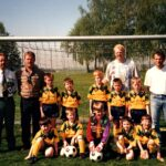 Neue Trikots für die F-Jugend 1995
